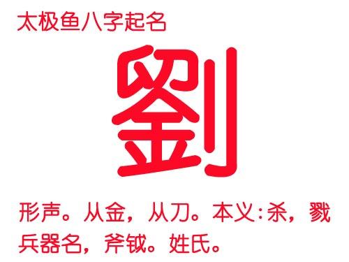 """姓氏""""刘""""字五行到底属金还是属火?"""