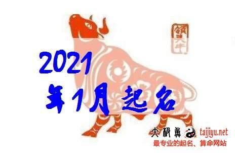 2021牛年1月(一月)出生宝宝起名名字大全